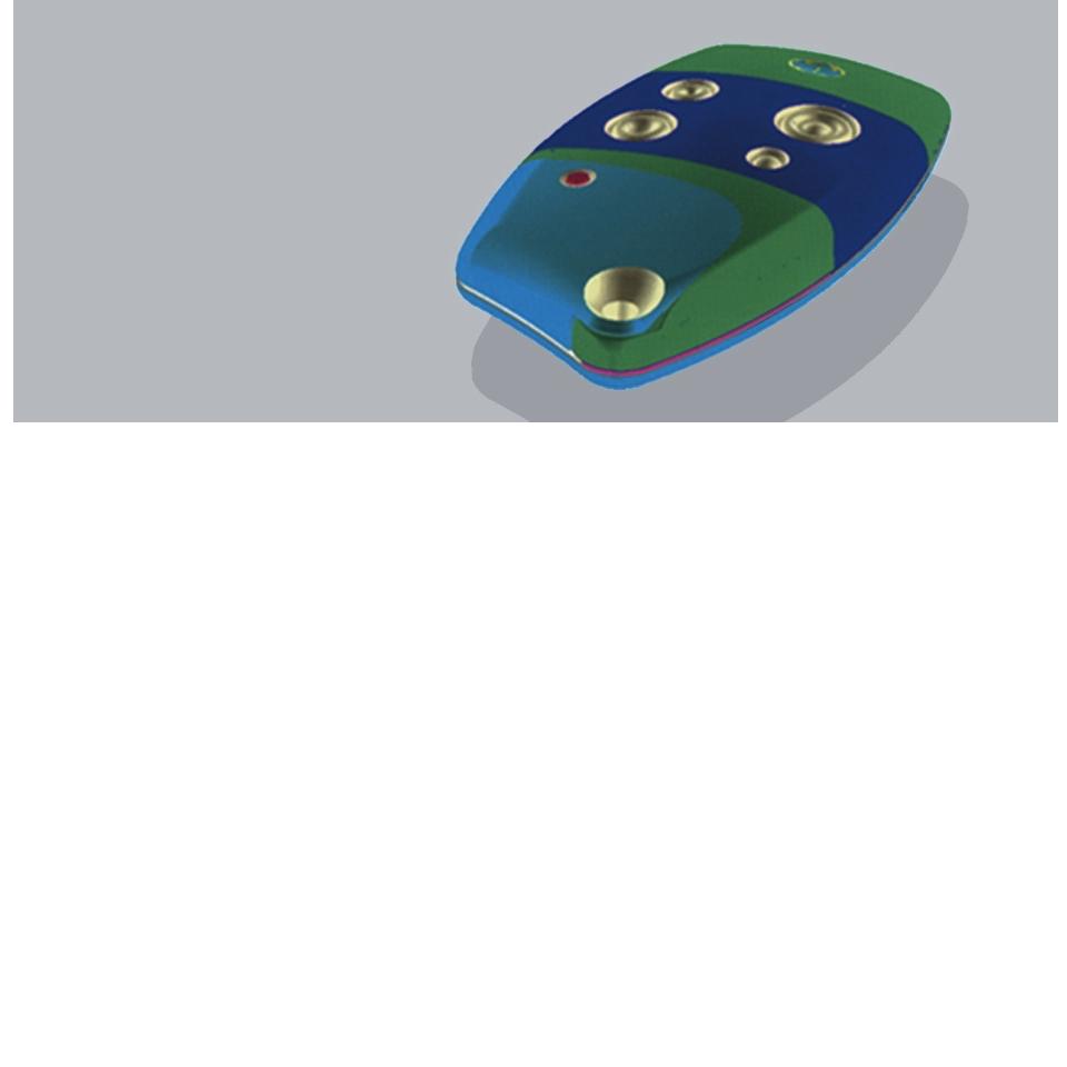 Les créations de l'agence SANSONEdesign – Télécommande Somfy 01