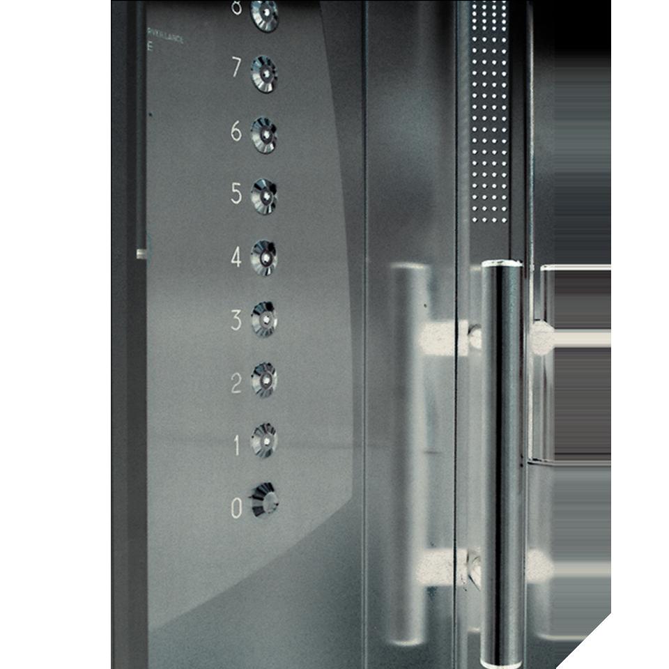 Les créations de l'agence SANSONEdesign – Cabine d'ascenseur