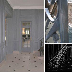 Rénovation d\'une maison bourgeoise du Nord - SANSONE design